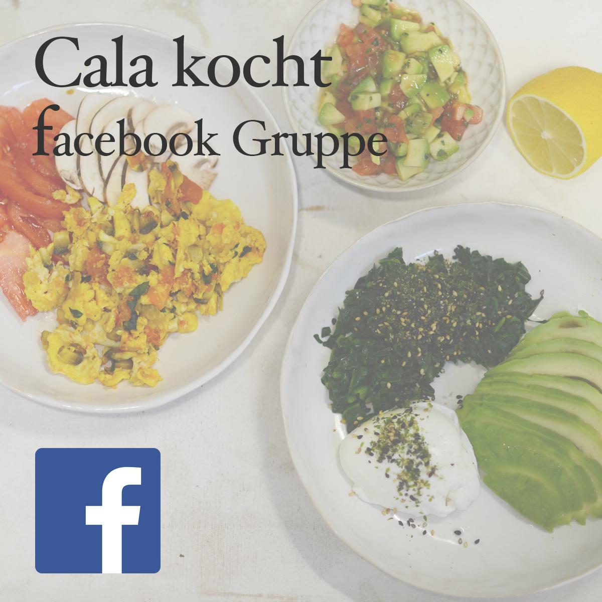 Cala kocht facebook Gruppe